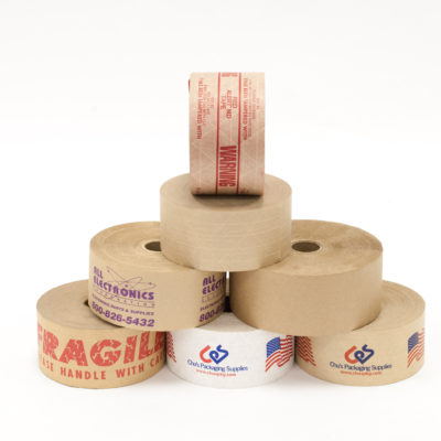 Water Activated Tape (WAT)