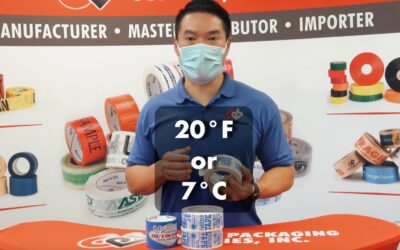 What is Cold Temperature Tape?